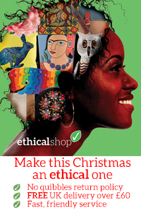 Shop Ethically this christmas! With The Ethical Shop.