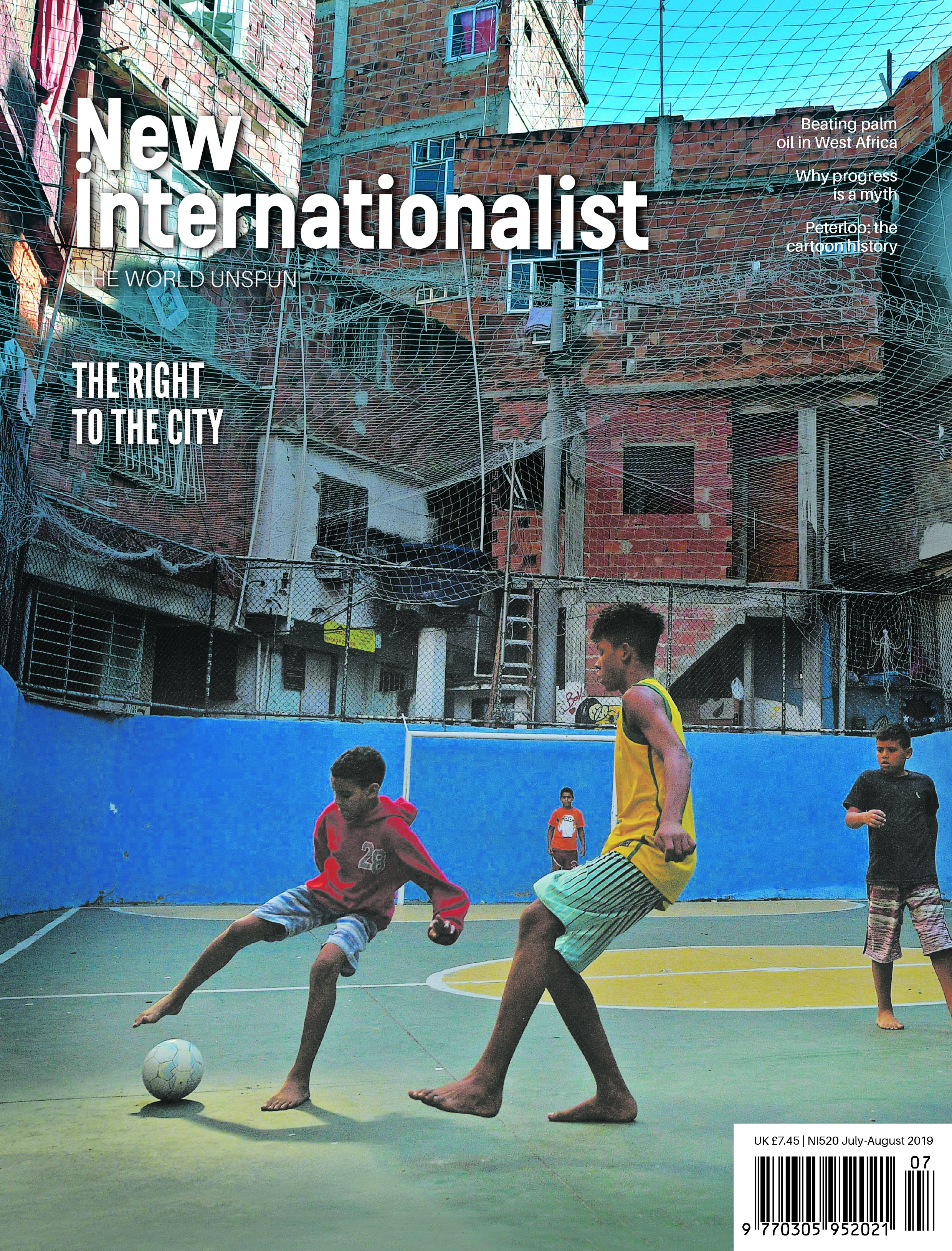 New Internationalist issue 520 magazine cover
