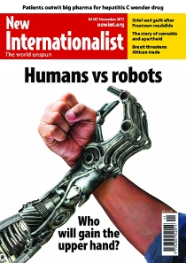 New Internationalist issue 507 magazine cover