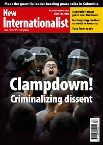 New Internationalist issue 508 magazine cover