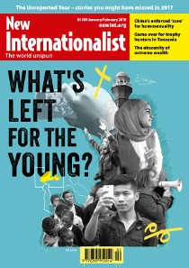 New Internationalist issue 509 magazine cover