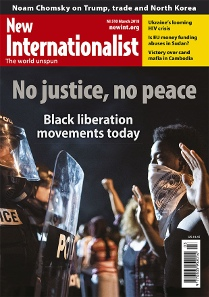 New Internationalist issue 510 magazine cover