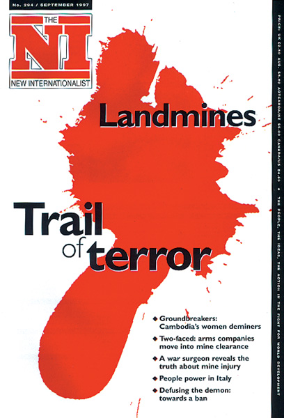 New Internationalist issue 294 magazine cover