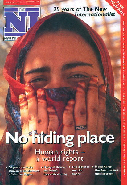 New Internationalist issue 298 magazine cover