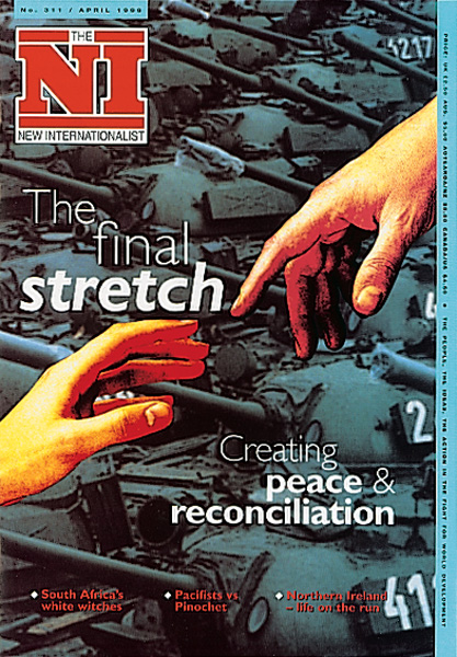 New Internationalist issue 311 magazine cover