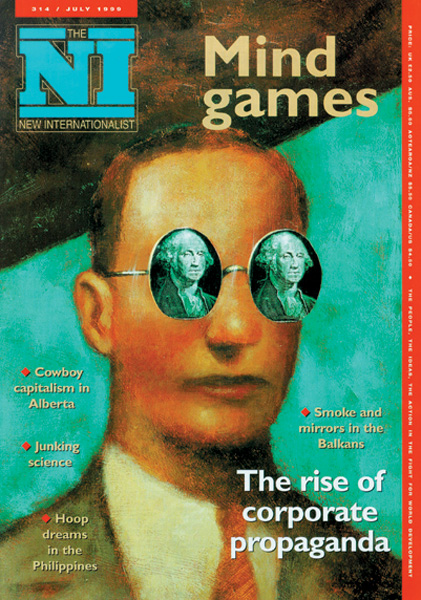 New Internationalist issue 314 magazine cover