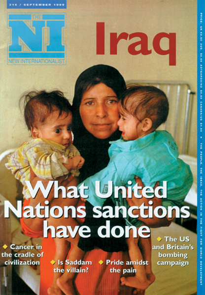 New Internationalist issue 316 magazine cover