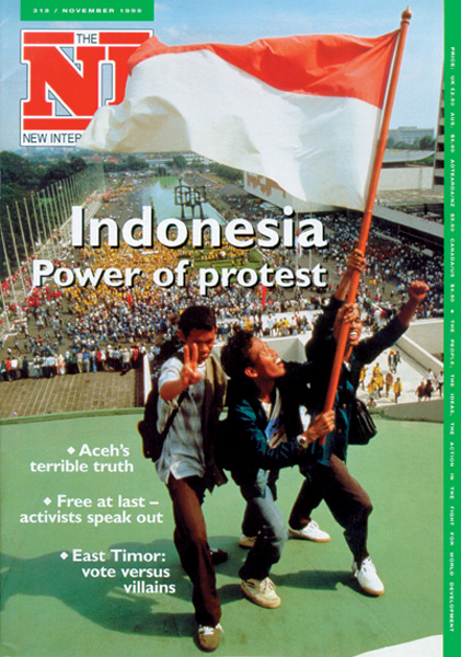 New Internationalist issue 318 magazine cover