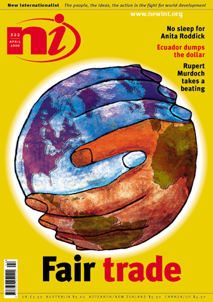New Internationalist issue 322 magazine cover