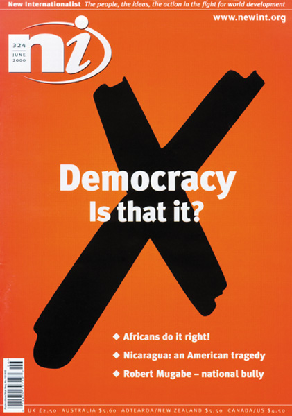 New Internationalist issue 324 magazine cover