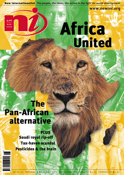 New Internationalist issue 326 magazine cover