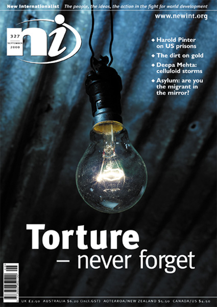 New Internationalist issue 327 magazine cover