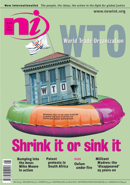 New Internationalist issue 334 magazine cover
