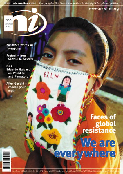 New Internationalist issue 338 magazine cover