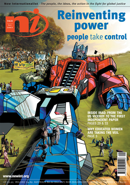 New Internationalist issue 360 magazine cover