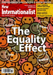 New Internationalist issue 504 magazine cover