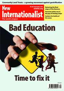 New Internationalist issue 505 magazine cover