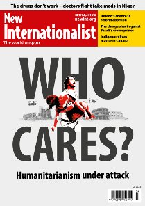 New Internationalist issue 511 magazine cover