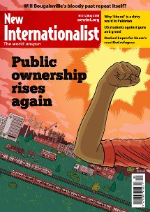 New Internationalist issue 512 magazine cover