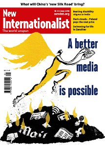 New Internationalist issue 513 magazine cover