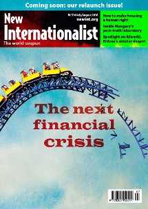 New Internationalist issue 514 magazine cover
