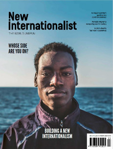 New Internationalist issue 518 magazine cover