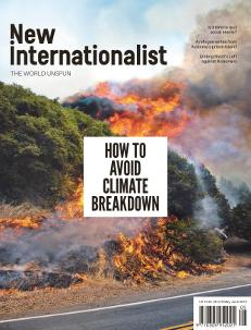 New Internationalist issue 519 magazine cover