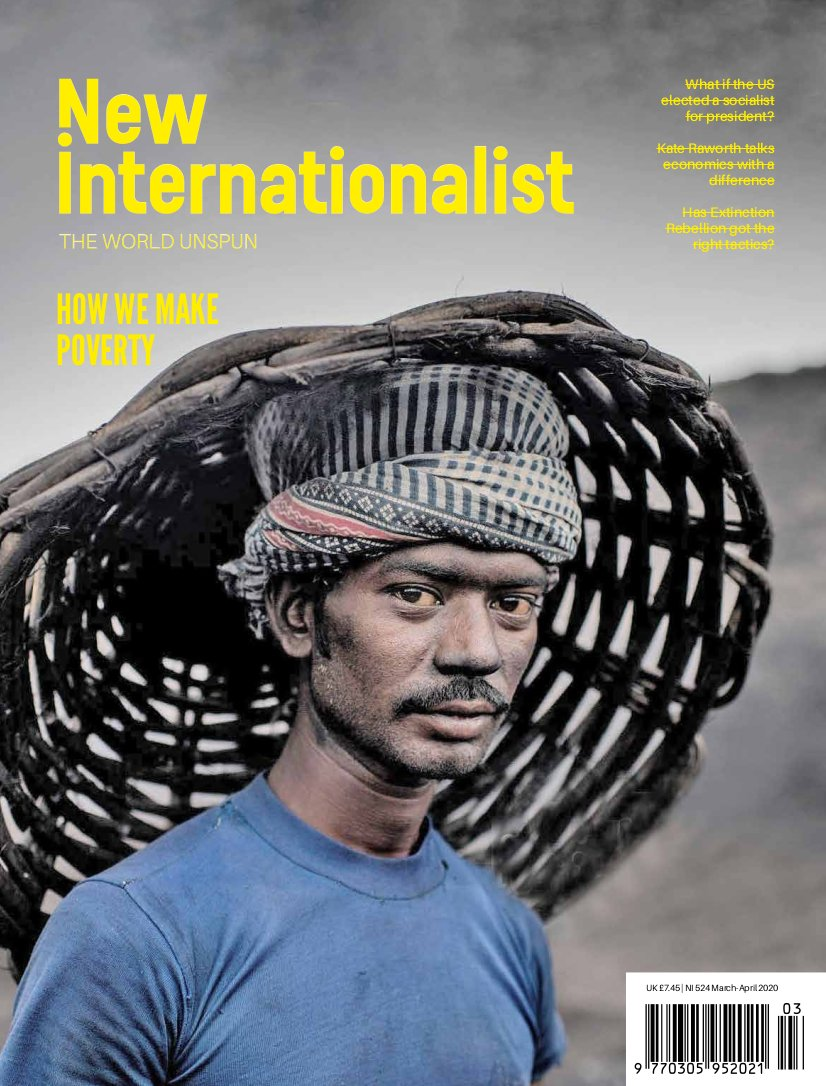 New Internationalist issue 524 magazine cover