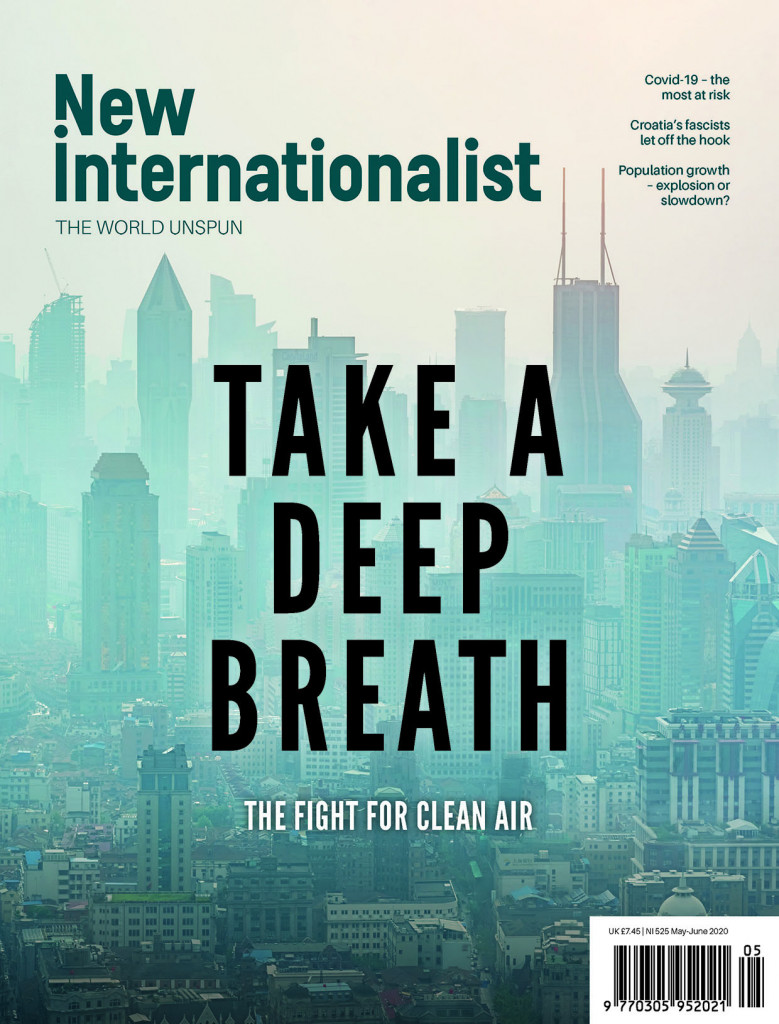 New Internationalist issue 525 magazine cover