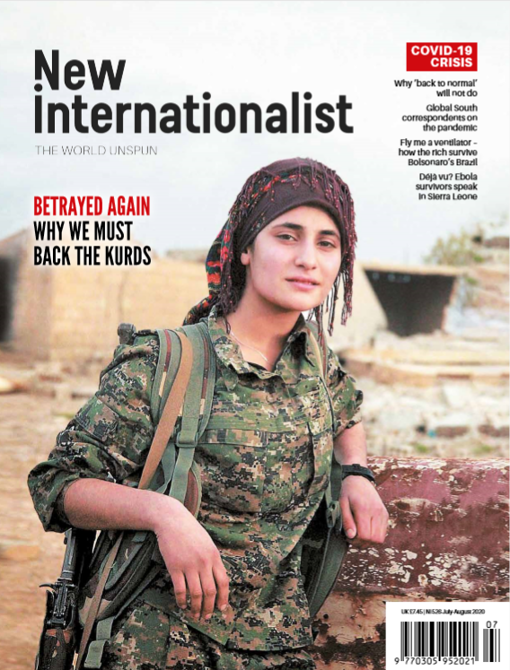 New Internationalist issue 526 magazine cover