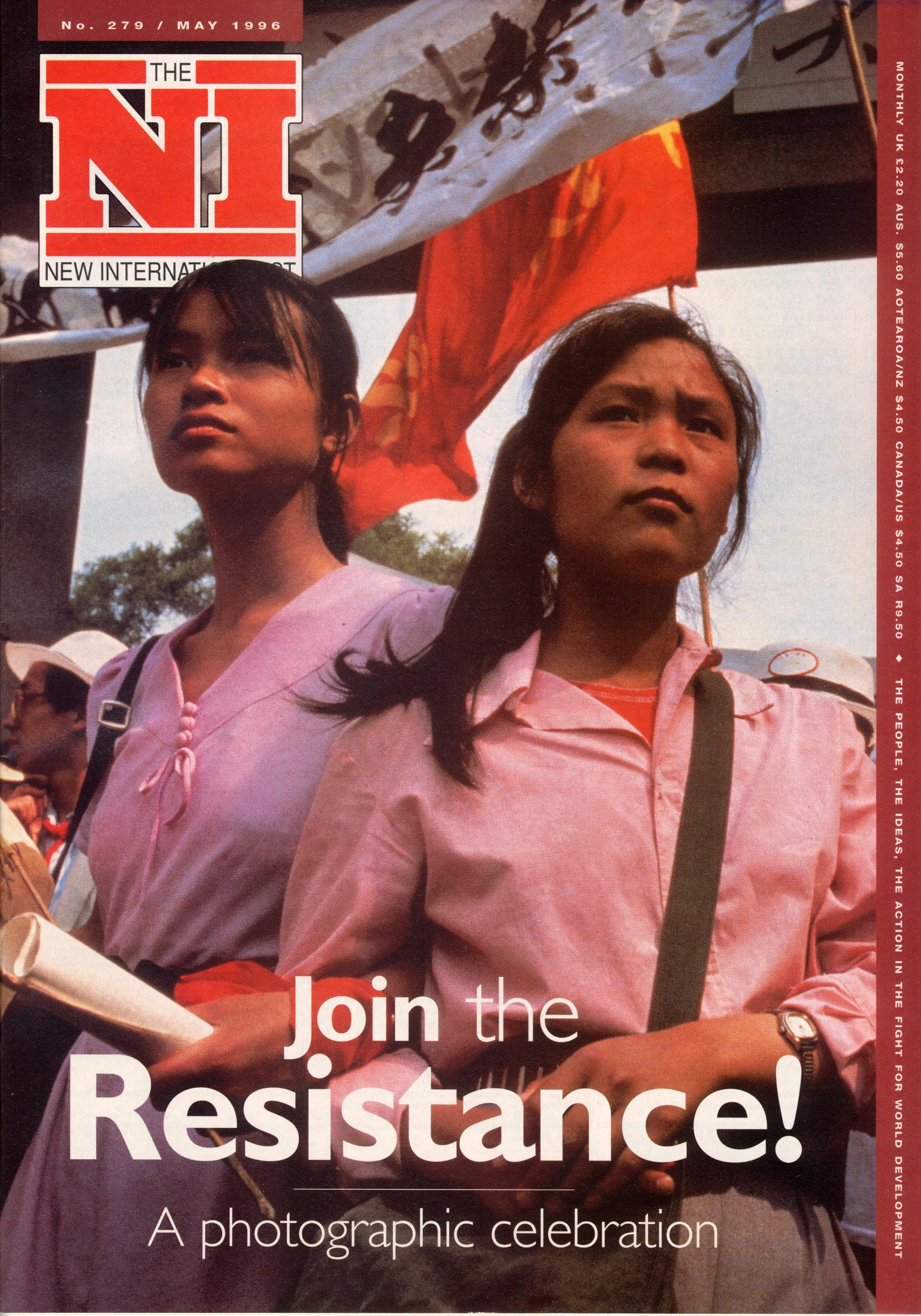 New Internationalist issue 279 magazine cover