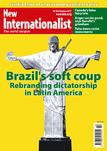 New Internationalist issue 506 magazine cover