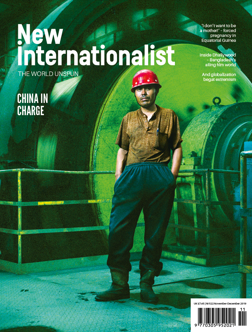 New Internationalist issue 522 magazine cover