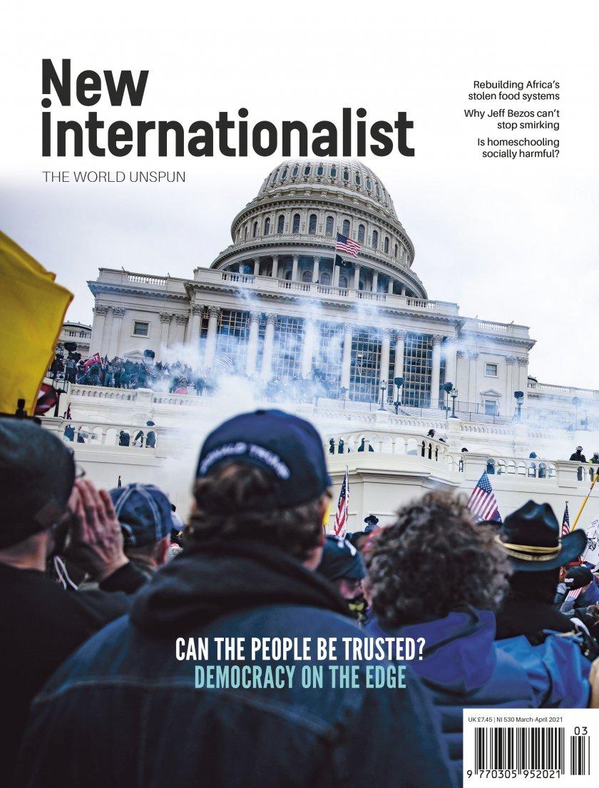 New Internationalist issue 530 magazine cover