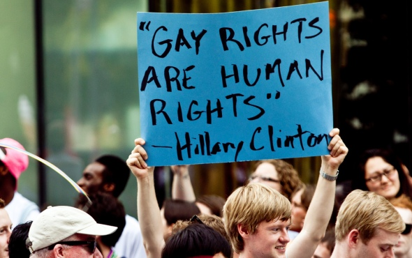 Gay rights - Pride march in the US