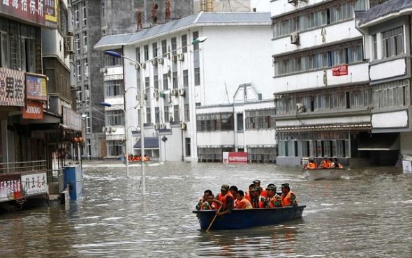 Flooding in Tibet
