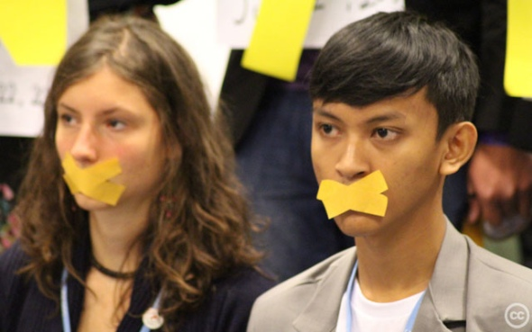 Youth at UN climate talks