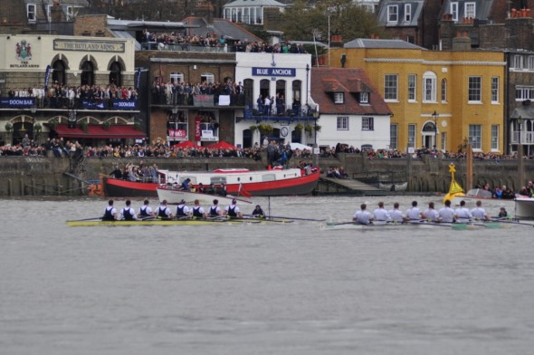 The 2012 boat race