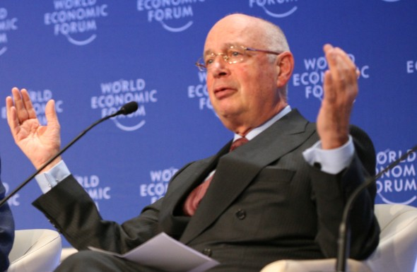 WEF chair Klaus Schwab