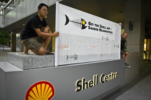 Anti-Shell protest