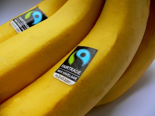 Fair trade bananas