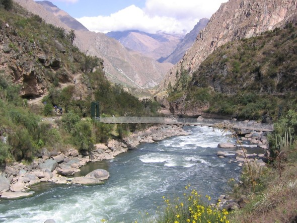 Urubamba River Oil giant takes aim at...