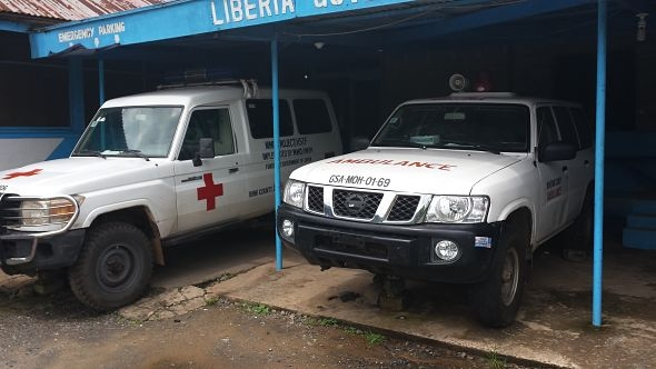 Liberian ambulances