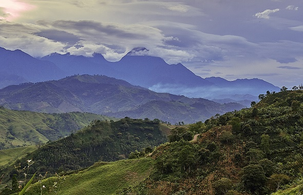Colombian mountains