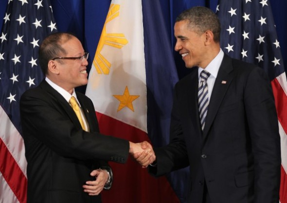 Presidents Aquino and Obama