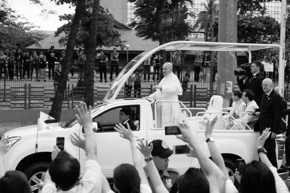 Pope in the Philippines