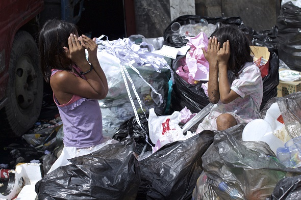 Poverty Swept Under The Red Carpet In The Philippines