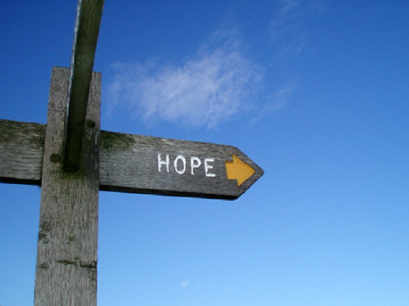 Pointing to hope