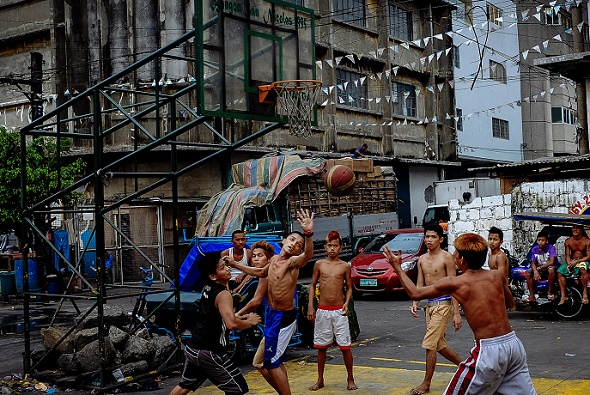 Basketball in Manila
