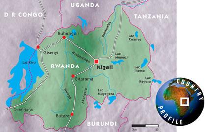 which country colonized rwanda
